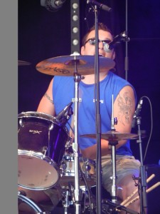 Bolle on Drums1500